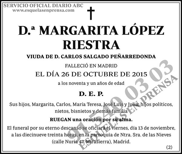 Margarita López Riestra